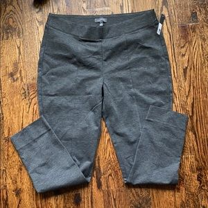 THE LIMITED Pull On Skinny Pants Gray Ponte